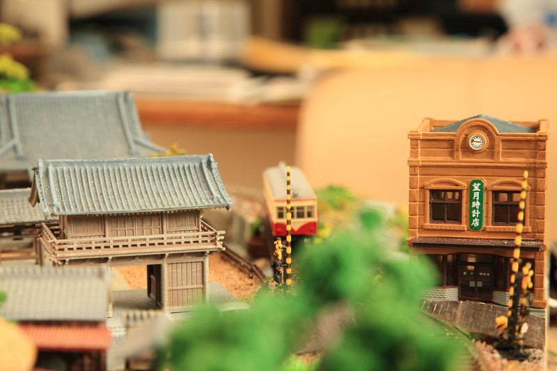 鉄道模型 街並み