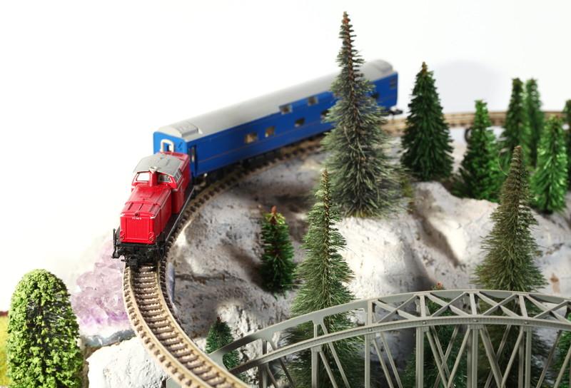 走らせるのが楽しい鉄道模型